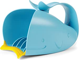 Skip Hop Moby Bath Tear-Free Waterfall Rinser Bath Cup, Blue