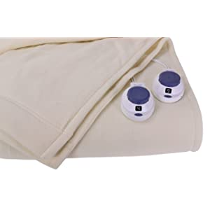 Soft Heat Luxury Micro-Fleece Low-Voltage Electric Heated Blanket