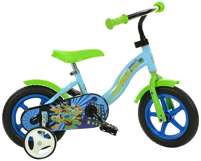 Dino Bikes 108L-HSH 10インチ ハーフシェル ヒーローズ ニンジャタートルズ 自転車