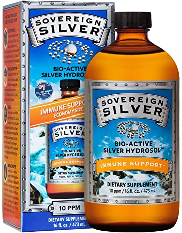 Sovereign Silver Bio-Active Silver Hydrosol for Immune Support* - 16oz – The Ultimate