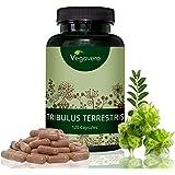 Tribulus Terrestris Vegavero   95% di Saponine   Aumenta la Libido – Stimola il Desiderio – Migliora l'Attività Sessuale – Testosterone - Energia e Resistenza - Performance Sportiva   Senza Magnesio Stearato   120 capsule da 600 mg