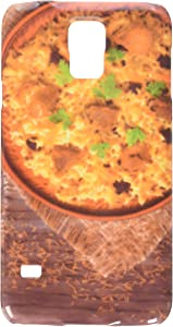 Arabic national rice food called pilaf cooked with fried meat cell phone cover case Samsung S5