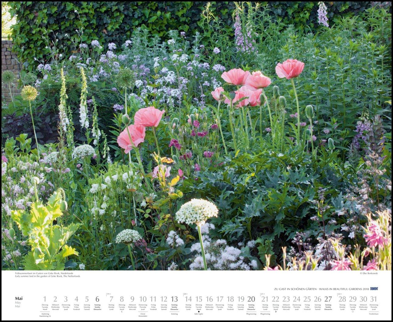 Zu Gast In Schönen Gärten 2018 Dumont Garten Kalender