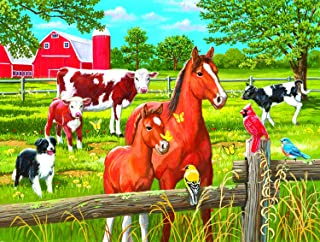 product image for Spring Pasture 300 pc Jigsaw Puzzle by SUNSOUT INC