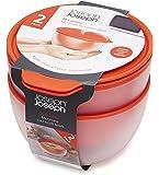 Joseph Joseph - M Cuisine - Cool Touch - Lot de 2 Bols Double Paroi pour Micro-onde