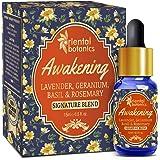 Oriental Botanics Awakening Aroma Therapy Diffuser Oil (Lavender, Geranium, Basil & Rosemary) - 15ml