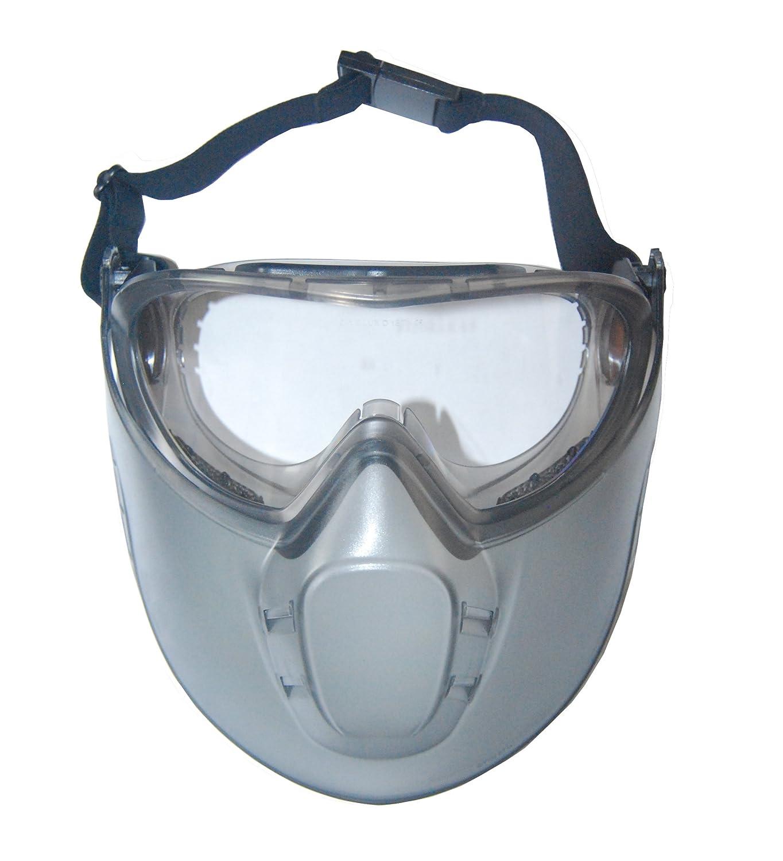 Maske Sicherheit Brille mit Antibeschlag Windschutzscheibe Gesicht STORMLUX LUX OPTICAL 60650 EURO-Schutz