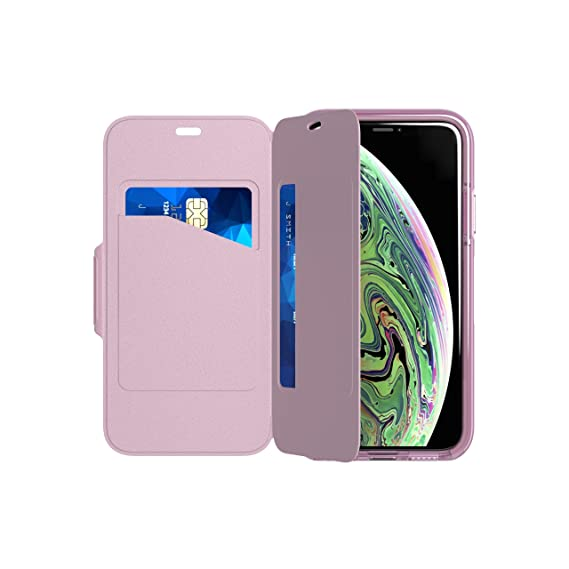 best service 9dc91 bd2aa tech21 - Evo Wallet Case - for Apple iPhone X/Xs - Orchid
