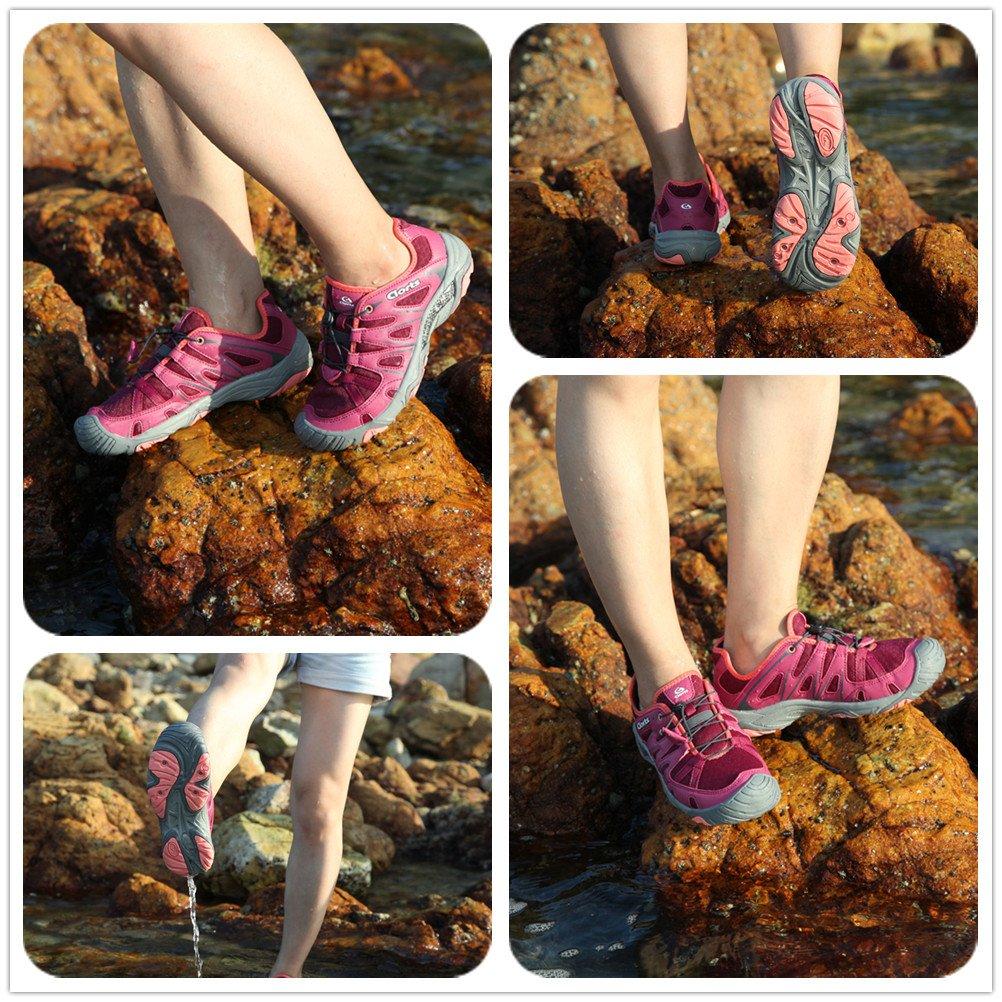 Clorts Toe Women's Water Shoe Closed Toe Clorts Quick Drying Hiking Sandal 3H025 B072L3XDWD 9 M US|Purple 3183c9