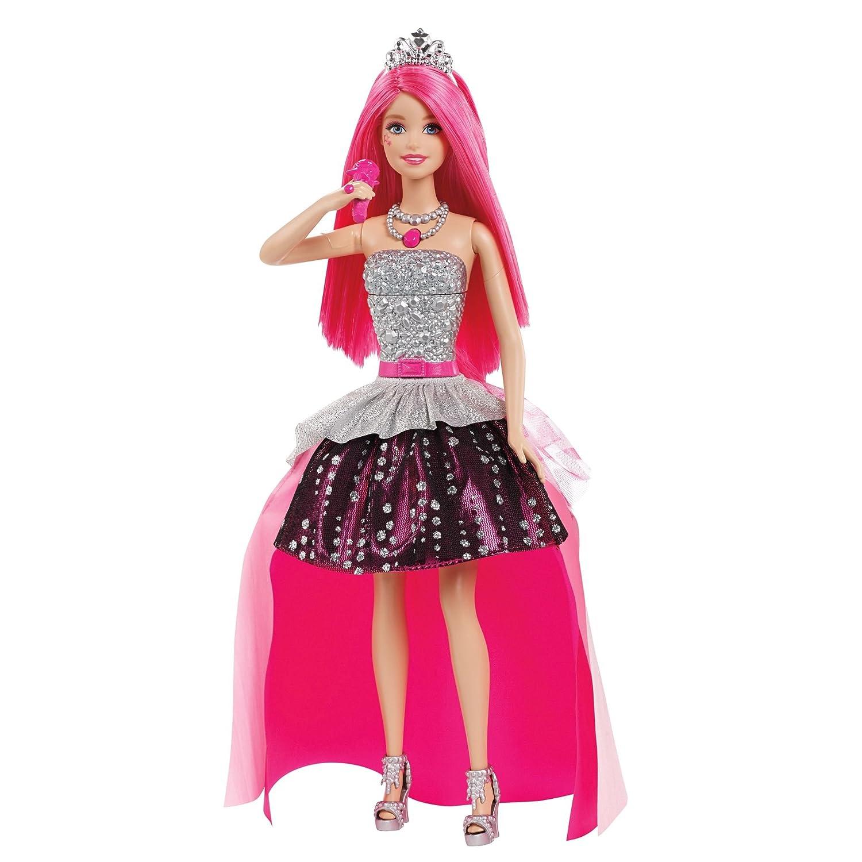 Barbie Rock N Royals Courtney Puppe Modell Leadsängerin Amazon De