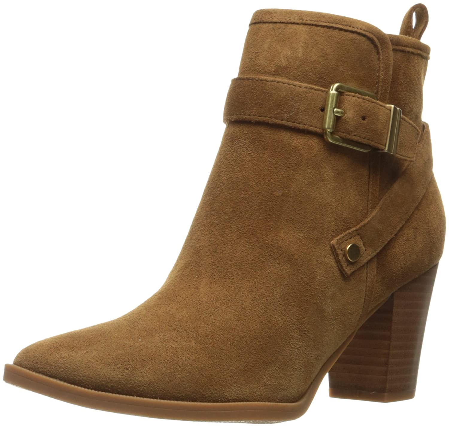 Franco Sarto Women's Delancey Ankle Bootie B01IHT44SY 10 B(M) US|Cognac