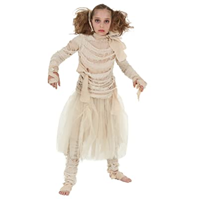 Girls Mummy Costume: Clothing