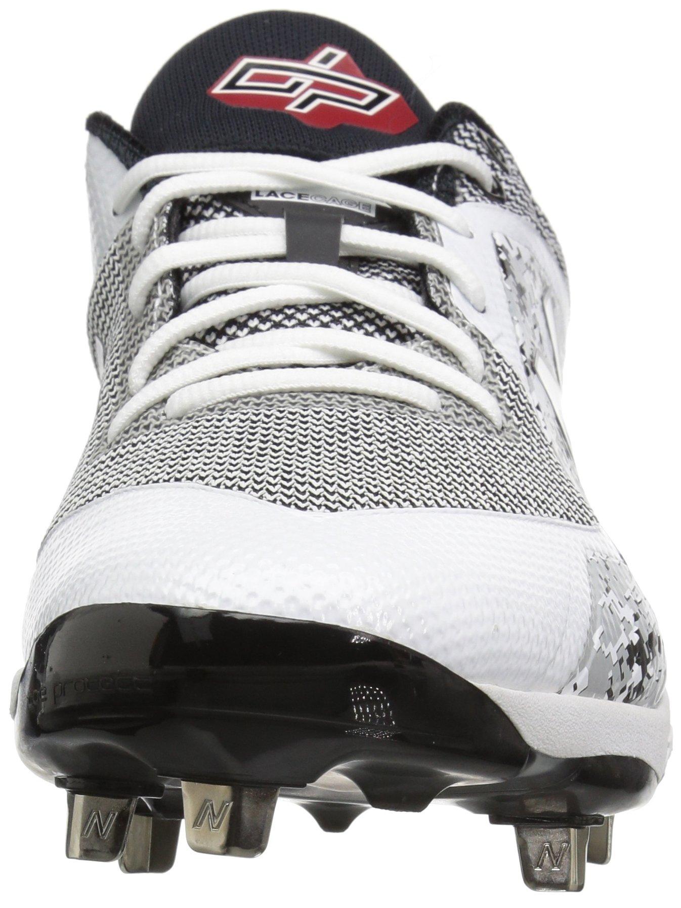 New Balance Men's L4040v4 Metal Baseball Shoe, Silver/Camo, 7.5 2E US by New Balance (Image #4)