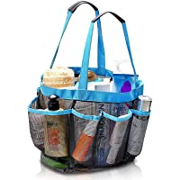 Octopus prime Quick Dry Hanging Toiletry and Bath Organizer with 8 Storage Compartments, Shower Tote, Mesh Shower Caddy, Perfect Dorm, Gym, Camp & Travel Tote Bag