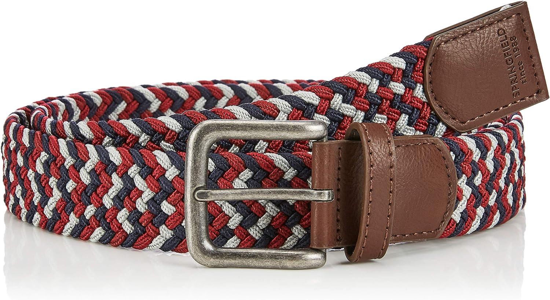 Springfield Trenzas Multicolor Cintur/ón para Hombre