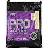 Optimum Nutrition Pro Gainer Weight Gainer Protein Powder, Vitamin C and Zinc for Immune Support, Vanilla Custard, 10.19 Poun