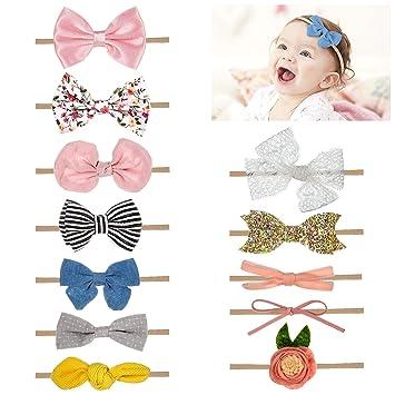 Mädchen Baby Kinder Bogen Haarschmuck Stirnband Kopfband Headwear Haarband