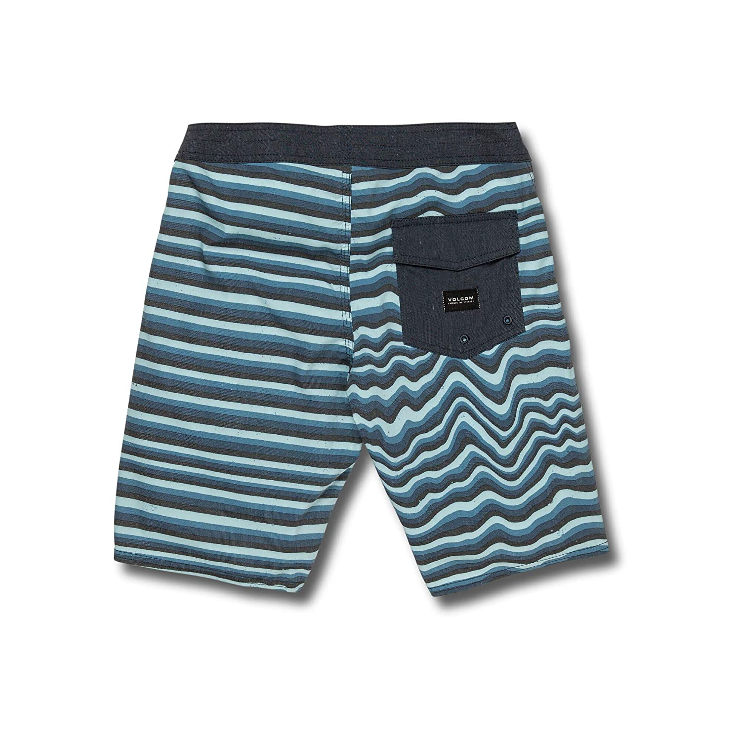 Volcom Big Boys Aura Stripe 17 Stretchy Boardshort