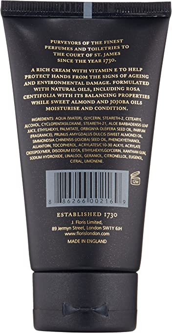 Floris London Rosa Centifolia Hand Treatment Cream 75 ml