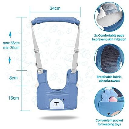 Geschenk zur Sicherheitsleine Geschenke f/ür Jungen und M/ädchen himmelblau Sturzsicherung f/ür Kinder Lauflernhilfe f/ür Kinder f/ür Neugeborene Gurte zum Laufen