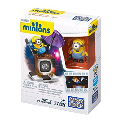 Mega Construx Minions Silly TV: Toys & Games