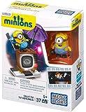 Mega Bloks - CNF49 - Les Minions - Télévision en Folie - 37 Pièces