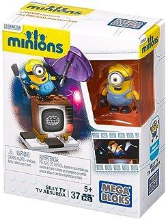 MINIONS - Vamos s Reparar la TV, Juego de construcción (Mattel CNF49)