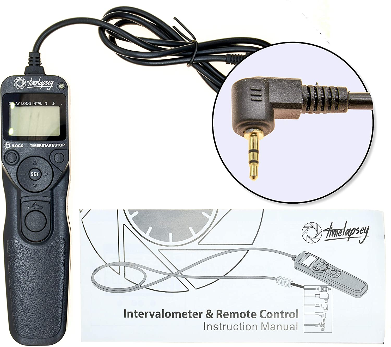 Canon E3 Cable PROtastic DSLR Intervalometer/Timer Shutter ...