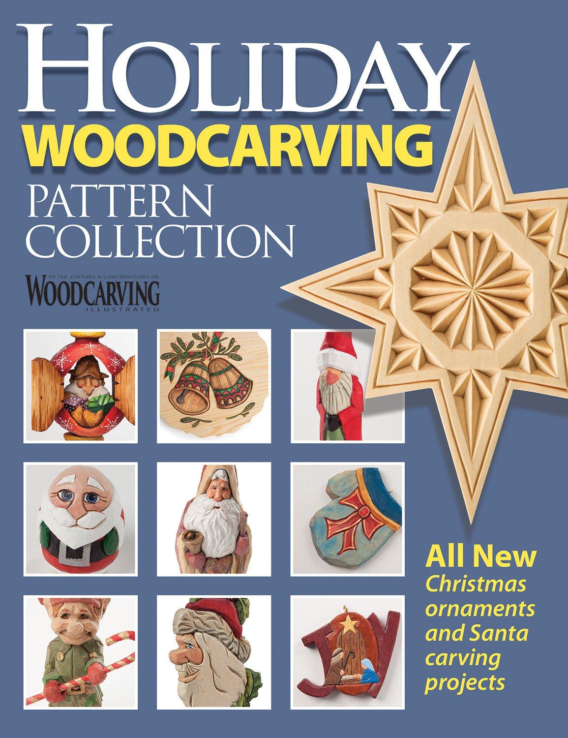 Holiday woodcarving pattern collection woodcarving illustrated