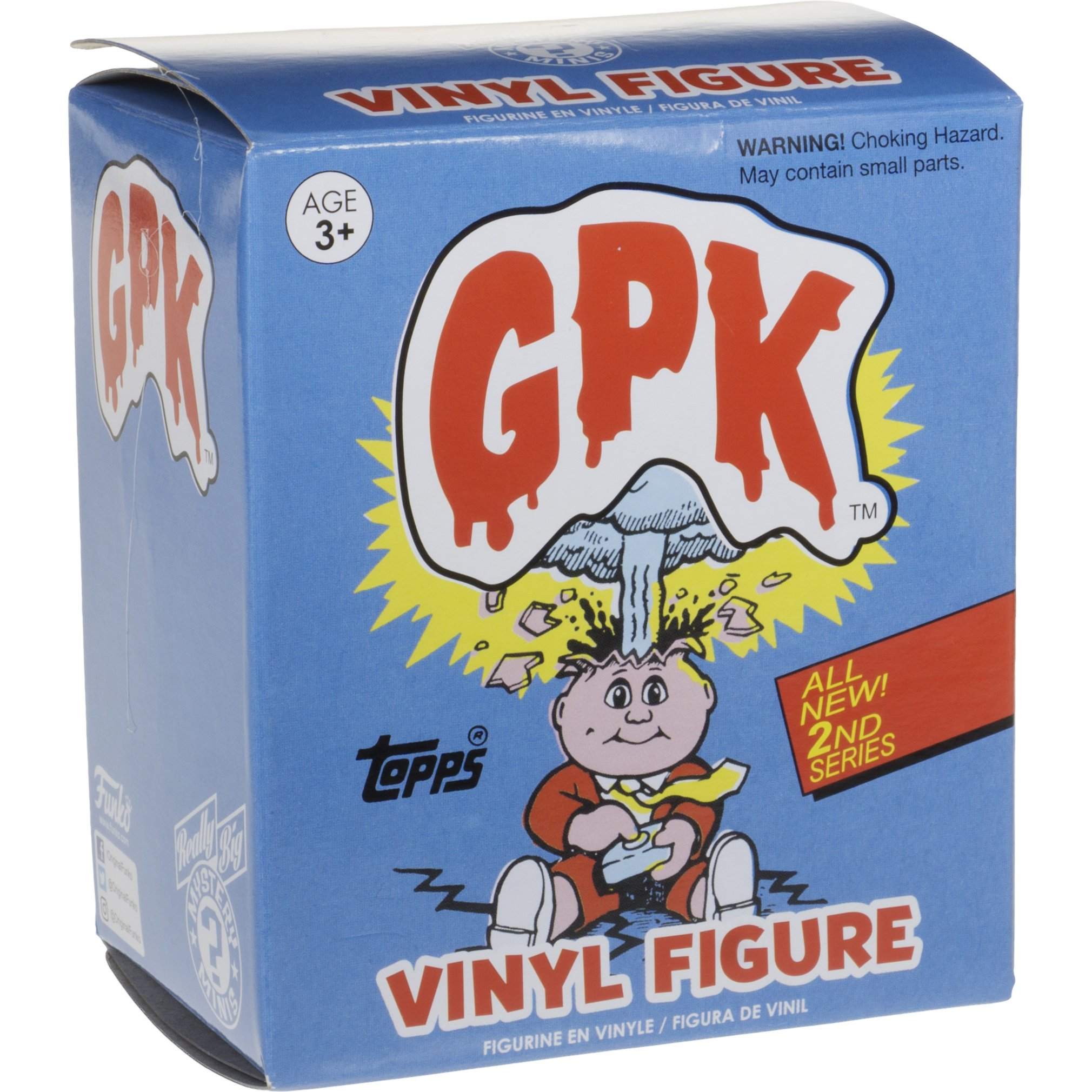 Eerie Eric: ~3'' Garbage Pail Kids x Funko Mystery Minis Mini-Figure Series #2 + 1 FREE GPK Trading Card/Sticker Bundle (108454) by Garbage Pail Kids (Image #4)