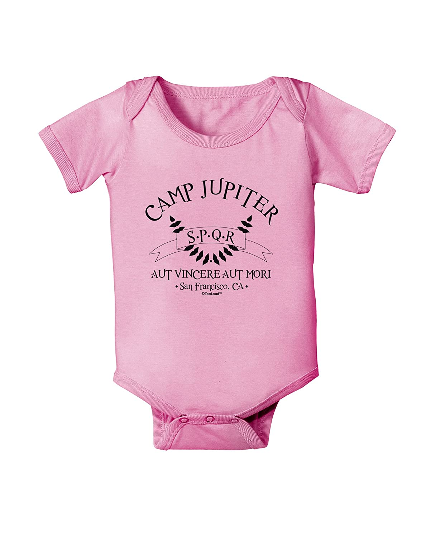 SPQR Banner Baby Romper Bodysuit TooLoud Camp Jupiter
