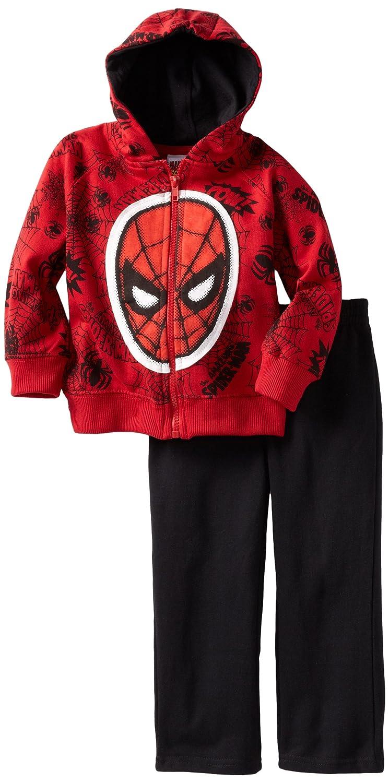 Marvel Boys Two-Piece Spider-Man Fleece Set Disney Boys 2-7 6M6500
