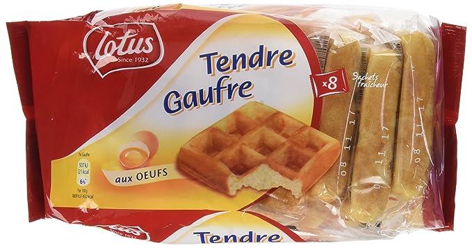 LOTUS Tendre Gaufre 8 x 1P 224 g - Lot de 4  Amazon.fr  Epicerie 7909b3e9d5d