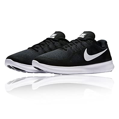 size 40 ce468 710fc Image Unavailable. Image not available for. Color  Nike Men s Flex Contact Running  Shoe, Black White Dark Grey Anthracite 14