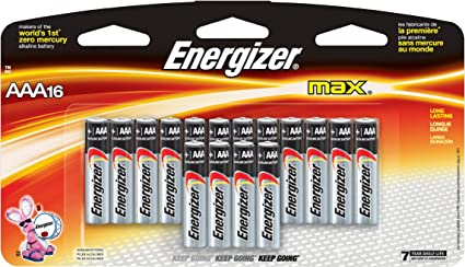 Amazon Com Energizer Max Aaa Batteries Designed To Prevent Damaging Leaks 16 Count Health Personal Care