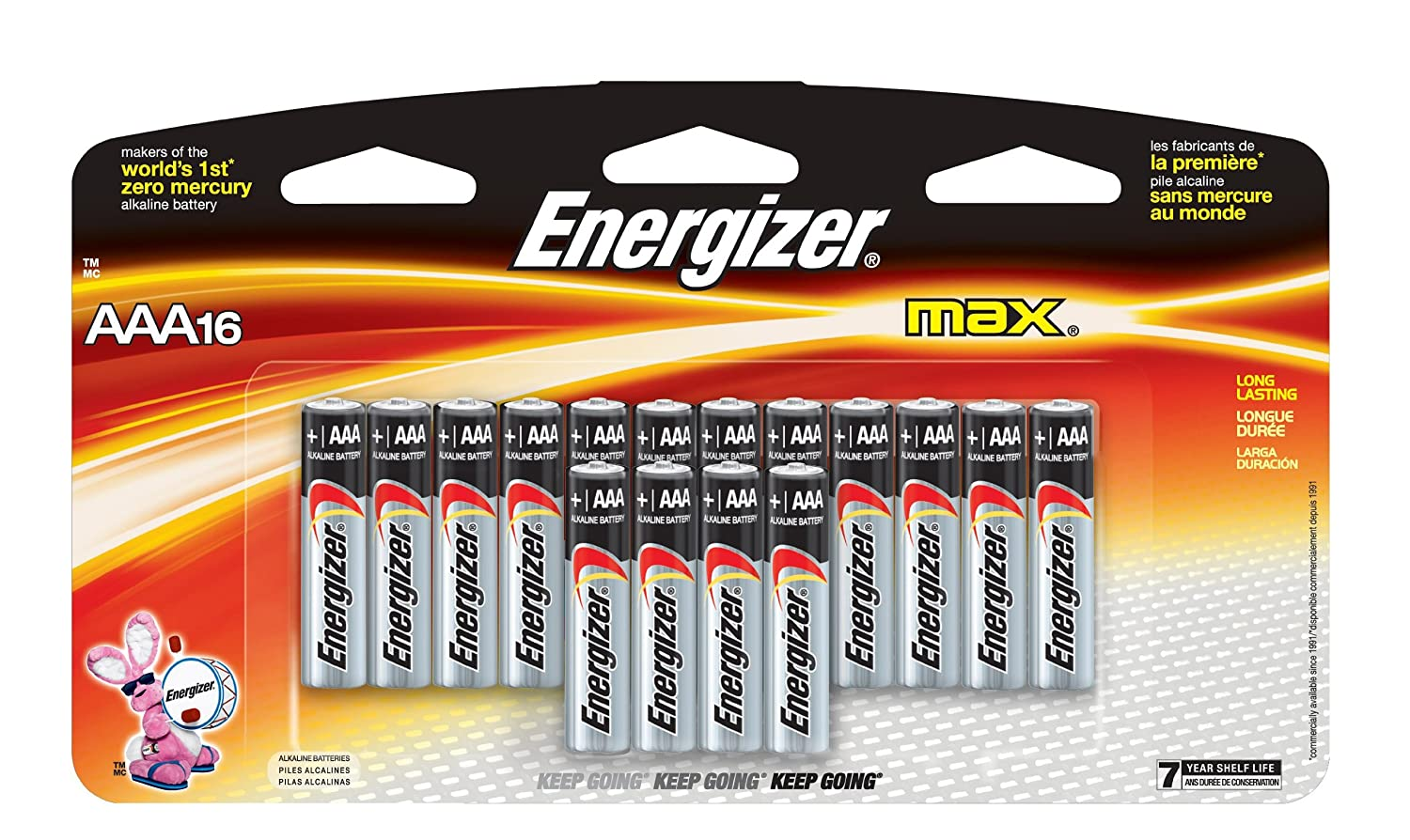 Amazon Energizer MAX AAA Batteries Designed To Prevent