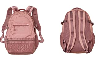 b908c179fca Image Unavailable. Image not available for. Color  Victoria s Secret Pink  New Collegiate Backpack ...