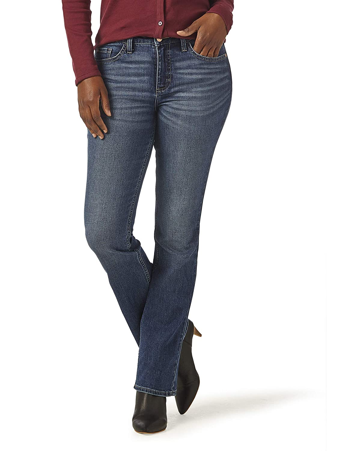 Riders by Lee Indigo Womens Midrise Bootcut Jean