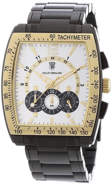 POLITI OROLOGI Herren Armbanduhr Chronograph OR3813