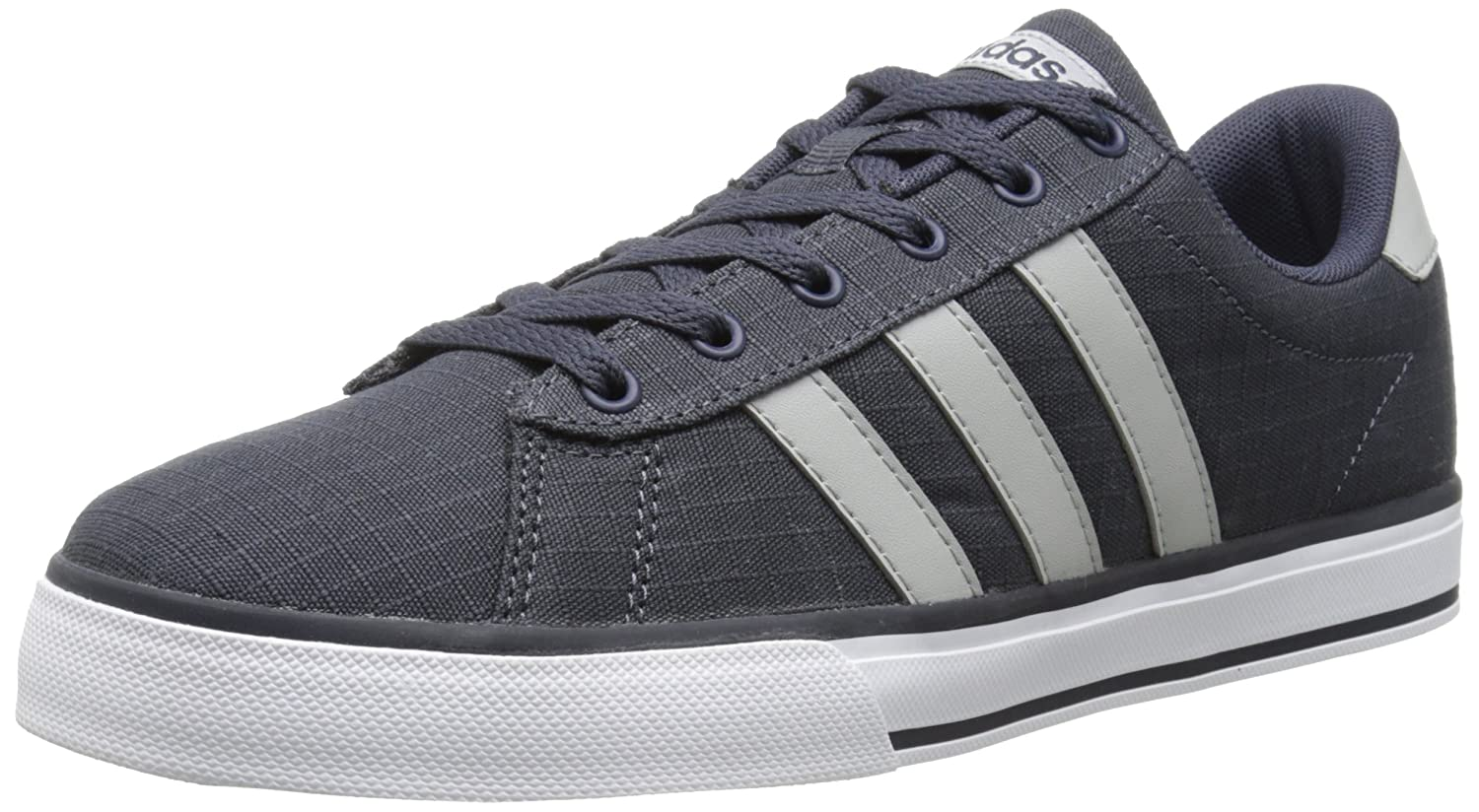 adidas NEO Men's SE Daily Vulc Lifestyle Skateboarding Shoe B00II2Z9RG 9.5 M US|Navy/Clear Onix Grey/White