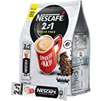 Nescafe 2 in 1 Suger Free Instant Coffee, 20 Sachets, 234g - Pack of 1