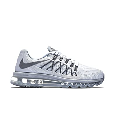 nike womens air max 2015 white and platinum