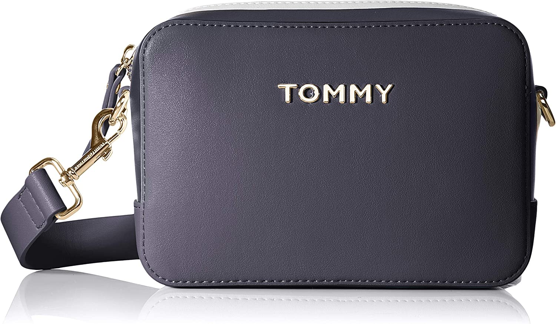 Amazon.com: Tommy Hilfiger - Bolso bandolera, Azul: Shoes