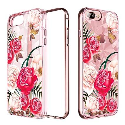 Amazon.com: YINLAI Funda para iPhone 8 Plus/iPhone 7 Plus ...