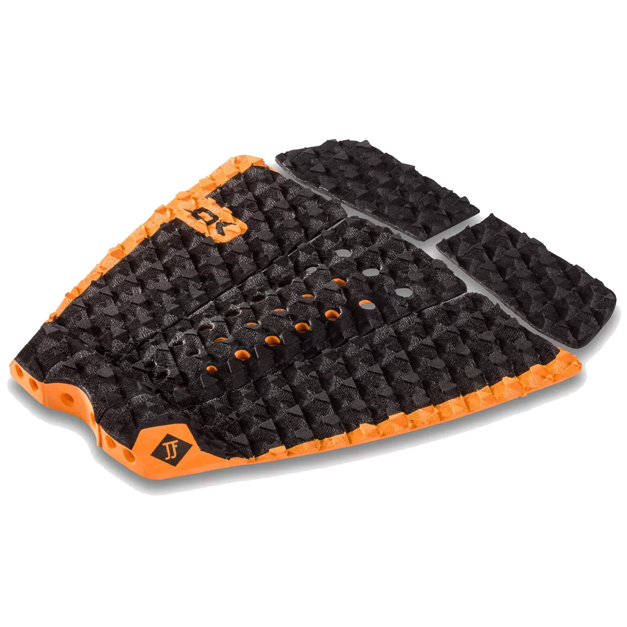 Dakine John John Florence Pro Surf Traction Pad, Black/Orange, One Size by Dakine
