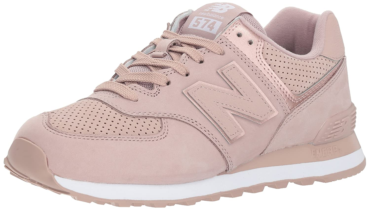 New Balance Women's 574v2 Sneaker B075R767BK 10 D US|Brown