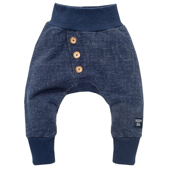 Pinokio - Pantalón - para bebé niño Azul Oscuro 62 cm: Amazon.es ...