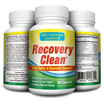 Amazon Herbal Detox Cleanse Pills Recovery Clean60 Capsules