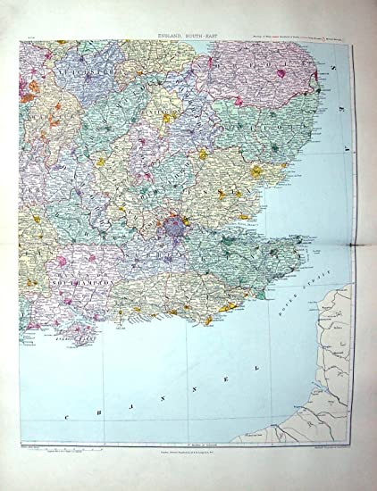 douvres carte angleterre