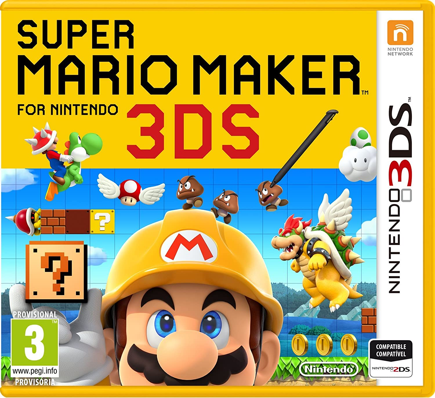 Super Mario Maker Nintendo 3ds Amazon Es Videojuegos